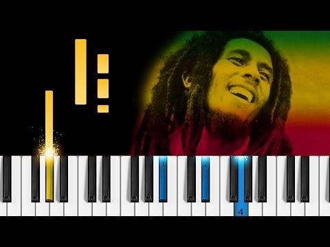 Bob Marley - No Woman, No Cry - Piano Tutorial