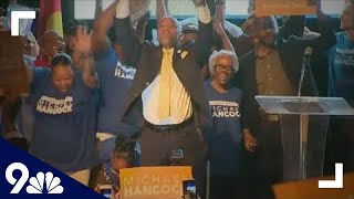 RAW: Michael Hancock claims victory in Denver mayoral race