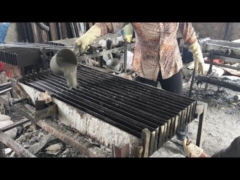 How to Make Cement Compound Casting Concrete - Fastest Construction Skill
