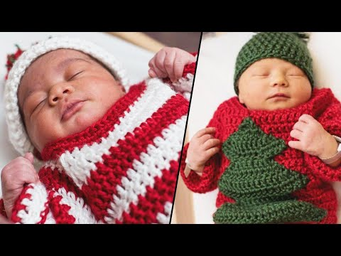 Edison - Adorable Newborns Wear Ugly Sweaters Hospital's Holiday Party