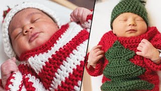 Adorable Newborns Wear Ugly Sweaters for Pittsburgh Hospital's Holiday Party
