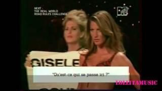 Жизель Бюндхен  Интервью  Виктория Сикрет показ мод 2002