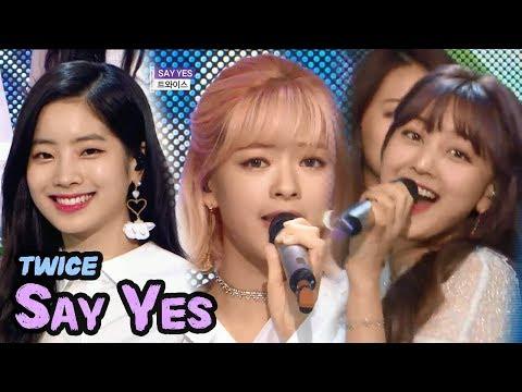Free Download [comeback Stage] Twice - Say Yes, 트와이스 - 세이 예스 Show Music Core 20180414 Mp3 dan Mp4
