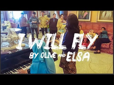 I WILL FLY ( TEN 2 FIVE ) PIANO COVER BY ELSA AND OLIVE