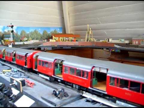 1938 Stock Tube Train O-gauge