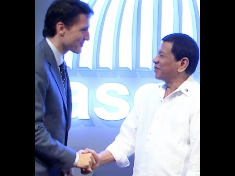 Duterte Takes Issue with Trudeau  on EJK  at ASEAN Summit