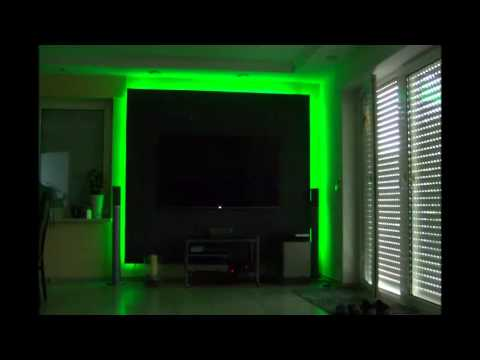 led tv wand cinewall tutorial anleitung selber bauen youtube. Black Bedroom Furniture Sets. Home Design Ideas