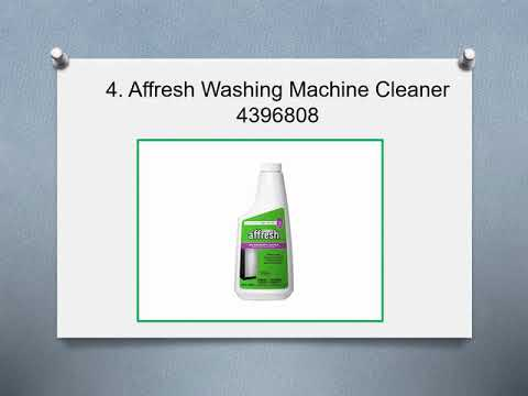 Top 10 Best Washing Machine Cleaners in 2019 Reviews