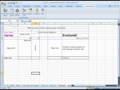 How To Import Excel Worksheet Into Revit
