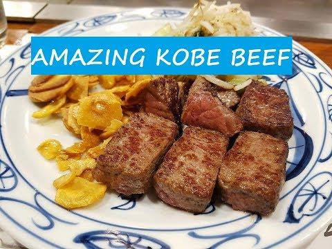 Discovering Kobe & The Amazing Kobe Beef! - Japan Travel Vlog: Day 5 || Poti Travels