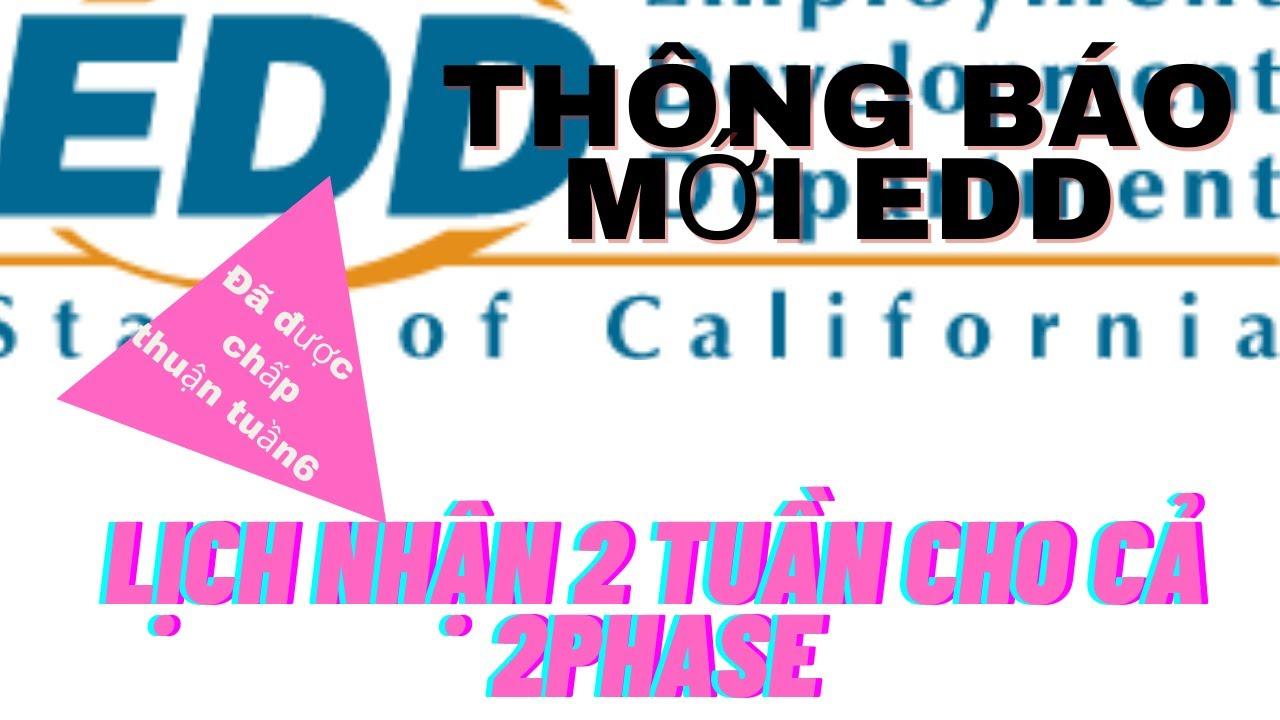TB Mới Sep 24 EDD| Đã có lịch nhận 2 tuần4,5  của cả 2 Phase| Cali FEMA đã chấp thuận cho T6||