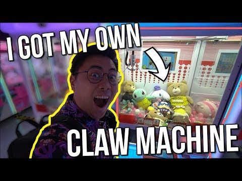 I GOT A CLAW MACHINE! - Arcade Ninja