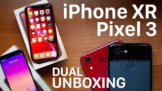 iPhone XR vs Google Pixel 3: Unboxing and Review!