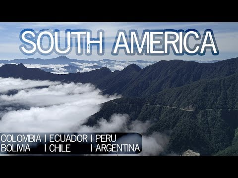 South America Travel Montage
