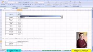 15 MS Excel - Функция ВПР