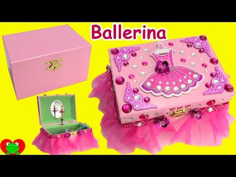DIY Ballerina Musical Keepsake Jewelry Box