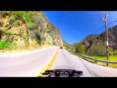 360 VIDEO: Motorcycle Ride in Malibu, CA