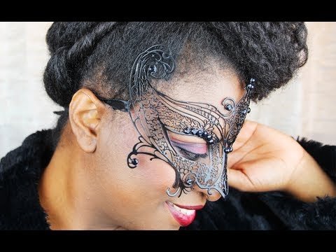 38 Black Masquerade A Formal Updo On Quot Natural Hair