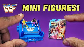 World's Smallest Wrestling Figures and Ring (Based on Vintage WWF Hasbro Toys) | BTS Tutorial
