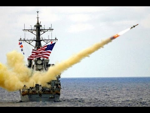 US Navy's Tomahawk Cruise Missile in Action 2017