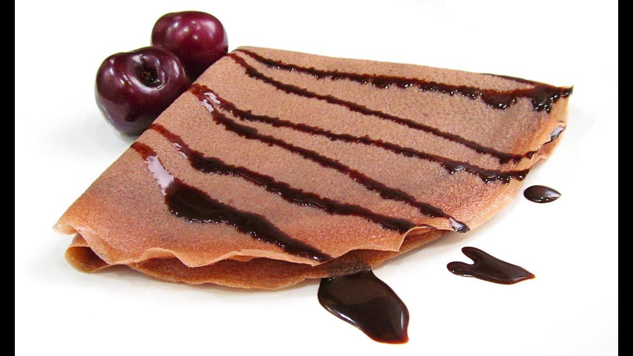 Como hacer crepes de chocolate paso a paso youtube for Como hacer crepes de chocolate