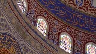 Мечеть Султанахмет, Голубая мечеть, Стамбул, Турция(Это видео создано с помощью видеоредактора YouTube (http://www.youtube.com/editor), 2013-08-29T10:34:20.000Z)