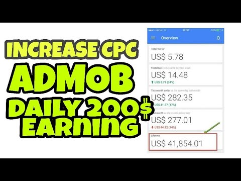 How to Increase CPC in ADMOB Without VPN | Admob self Earning App | Alld2hell