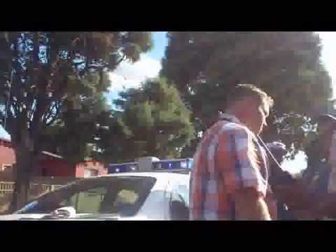 Yet again! Shocking police brutality - Middelburg Mpumalanga - restrained with excessive force