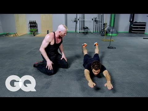 MUAY THAI: Core Workout - GQ's Fighting Weight Series