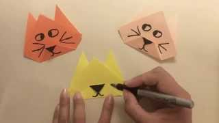 Origami for Beginners: Cat