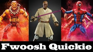 Quickie! Star Wars Black Series and Marvel Legends Reveals from Lucca Hasbro Panel