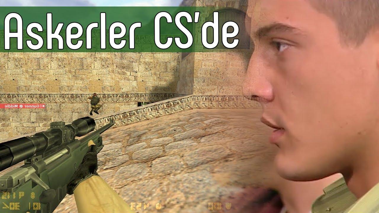 Karargah Destek Bölüğü'nün Counter Strike Keyfi