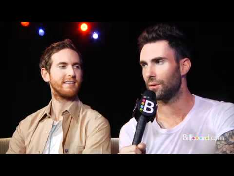 "Adam Levine Calls ""Moves Like Jagger"" a ""Risk"" for Maroon 5 : Video Interview"