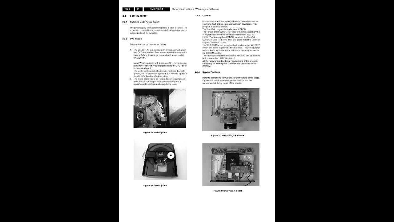 Philips dvd-625 dvd player on demand pdf download   english.