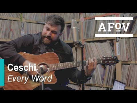 "Ceschi - ""Every Word"" A Fistful of Vinyl sessions"