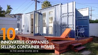 10 Innovative Companies Selling Shipping Container Homes In The United States 2018 | Sheltermode
