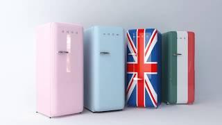 SMEG 냉장고 광고