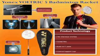 yonex voltric 5 badminton racquet