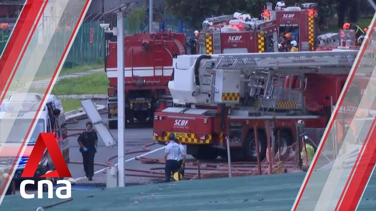 Jurong fire: 1 dead, 2 injured after inferno at LPG facility