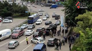 Переполох в центре Харькова.  СБУ задержала автомобиль с оружием - 18.05.2018