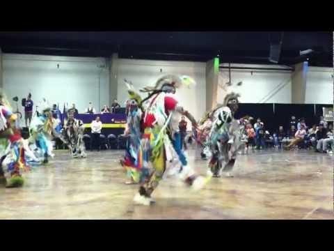 Men's Grass Dance Choctaw Nation Powwow Durant Oklahoma November 23, 2012