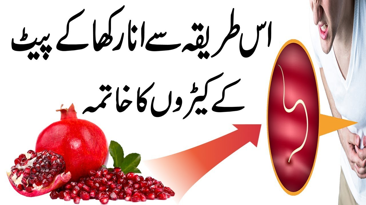 Hookworm Treatment With Pomegranate || Natural Health