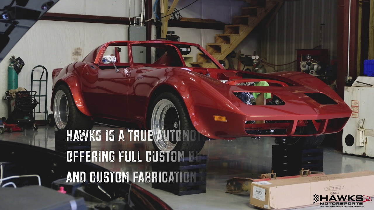 take a tour of hawks motorsports