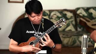 "Acoustic Ukulele Tahiti  ""Body Surfing"""