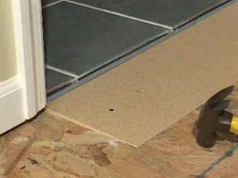 Learn How To Solve All Your Flooring Transition Problems YouTube - Floor dividers between rooms