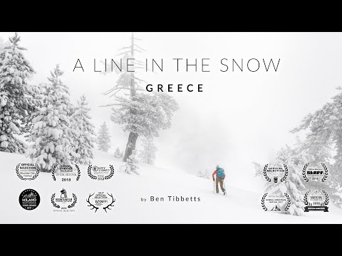 A Line in the Snow - Greece