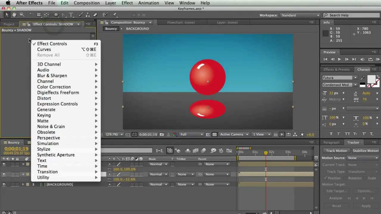 Discovering After Effects Training - Animation Keyframes and Time Remapping  - Rampant Design Tools