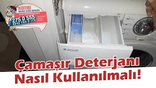 Çamaşır Deterjanı Nasıl Kullanılmalı?