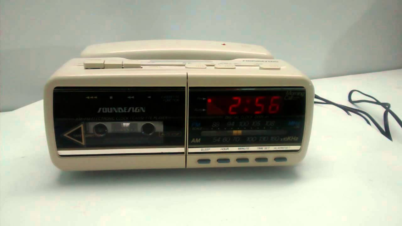 Sound Design Cassette Player Home Phone Radio - YouTube