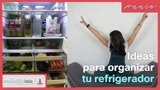 ¿Cómo organizar el refrigerador? | Ideas y tips  | Me Lo Dijo Lola